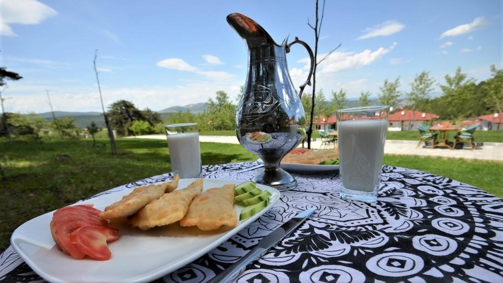 Amorium Hotel taş ev otel doğal kahvaltı